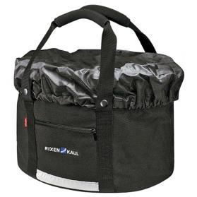 Klickfix cykelkurv/-taske Shopper Comfort | Shopping kurv med regnslag | EBIKECENTER