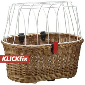 Få hunden med på tur med klickfix hundekurv | ebikecenter.dk