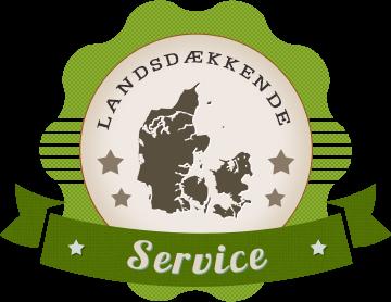 landsdækkende service